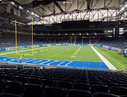 Ford Field Section 139 Seat Views Seatgeek