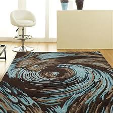dazzling teal and brown rug better homes gardens geo waves area or brown and teal rug
