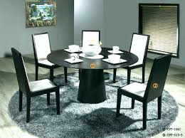 round black dining table with leaf full size of kitchen contemporary and chair