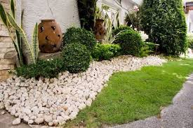 Decorative Rock Designs Rock garden designs for front yards 54