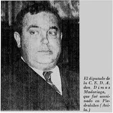 """1936-1939)"""", del que es autor José María Ruiz Alonso y en el que se hace constar que fue publicado """"con una ... - Madariaga"""