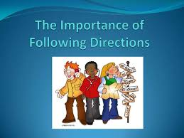 the importance of following directions jpg cb