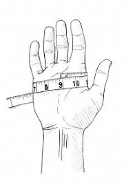 how to measure hand size for gloves how to measure glove size proper cloth reference