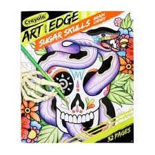 Apparently, every kid in the '90s was suddenly convinced that they were being targeted by pickpockets. Crayola Art With Edge Sugar Skulls Coloring Book Target