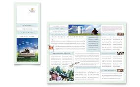mortgage flyers templates mortgage lenders tri fold brochure template design