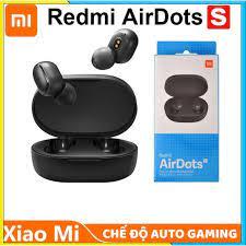 Chính hãng 100%) Tai nghe bluetooth Xiaomi true wireless Redmi AirDots S  Gaming chính hãng 100% - BH 18 tháng chính hãng
