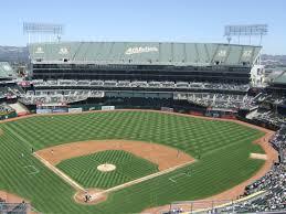 Oakland Coliseum Seating Chart Baseball Ringcentral Coliseum Oakland As Ballpark Ballparks Of