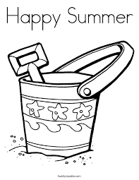 Small Picture Happy Summer Coloring Page Twisty Noodle
