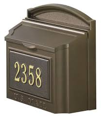 residential mailboxes wall mount. Unique Residential Residential Wall Mount Mailboxes Whitehall  Mailbox Throughout