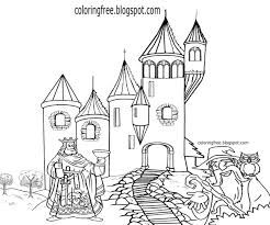 Simple House Drawing For Colouring Coloring Pages Kids Activities