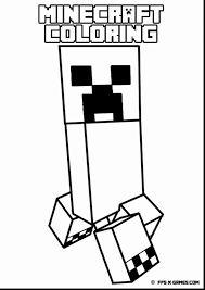 Coloring Pages Of Minecraft Herobrine Copy Unbelievable Page
