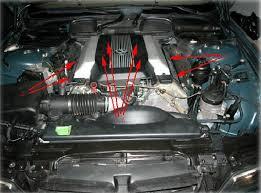 e38 bmw 740i il m62 intake manifold removal