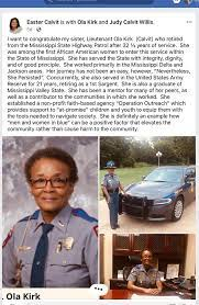 "We Save Lives on Twitter: ""#WeSaveLives congratulates Lt. Ola Kirk (Calvit)  on her retirement after 32+ yrs. from the @MSHwyPatrol. Among her  accomplishments she didn't hesitate to arrest impaired drivers, saving  lives."