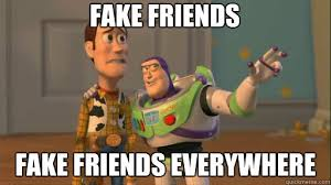 Funny Memes About Fake Friends - funny memes about fake friends ... via Relatably.com