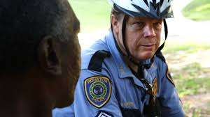 this is what community oriented policing looks like