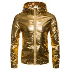 fashion personality solid color hooded zipper cardigan leather jacket best ping websites sfotc72016
