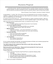 sample business proposal 17 sample business proposals doc pdf