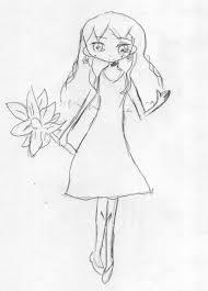 ヒマワリ少女 イラストコンテスト 夏をテーマにイラストを描いて