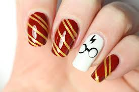 Harry Potter Nail Designs Un Nail Art Harry Potter Harry Potter Nails Harry