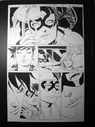 Gotham City Sirens 6, page 21 - Catwoman, Harley Quinn, Poison Ivy,  Carpenter - Guillem March, in Rob Pickel's Batman Comic Art Gallery Room