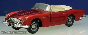 Dinky Toys Ref Nr 110 Aston Martin Db5 Cream Seats