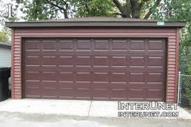 two car garage doorGarage door replacement cost  interunet