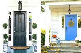exterior door painting ideas. Blue Front Door Meaning Doors Exterior Paint Colors Stylish Black And Painting Ideas T