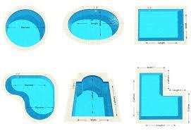 How To Measure Pool Shape Swimming Pool Measurements 7 Little Words  Swimming Pool Measurement Swimming Pool