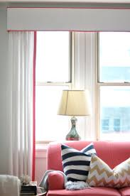 Living Room Furniture Belfast Gorgeous White Curtains And Cornice With Coral Piping P 2284
