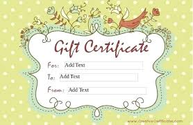 Free Blank Gift Certificate Printable Vouchers Christmas – Pitikih