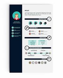 Infographic Resume Templates Simple Infographic Resume Templates 48 Examples To Download Use Now