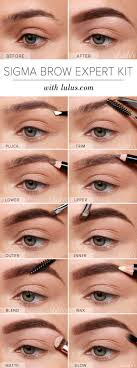 brow shaping tutorials brow expert kit eyebrow tutorial awesome makeup tips for how to