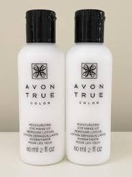 set of 2 avon moisture effective eye makeup remover lotion 60 ml 2 fl