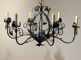 wrought iron candle chandelier candle chandelier lighting wrought iron candle chandelier lighting chandeliers metal candle chandelier
