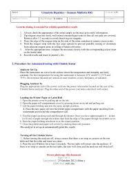 Active Urinalysis Dipstic