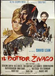 Il dottor Zivago Doctor Zhivago Manifesto Poster Affiche OSCAR LEAN F2