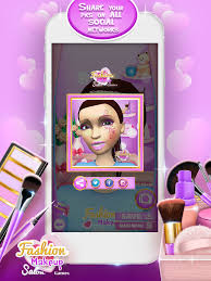 fashion makeup salon games 3d celebrity makeover and beauty studio game on the app