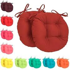 round seat cushions with ties creative round stool cushions stool outdoor seat cushions with ties outdoor