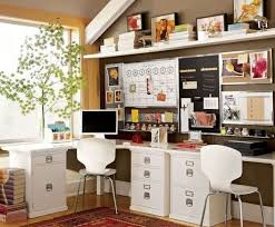 home office small shared. officesmall shared home ofice with white red desk and unique chairs also wood wall office small e