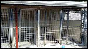 indoor outdoor dog kennel plans the outside of runs in big building