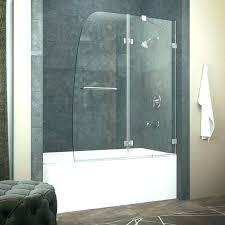 bath tub door stunning bathtub shower glass
