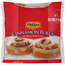 rhodes bake n serv rhodes cinnamon rolls 12 ea
