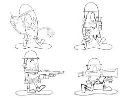 Batman Color Sheet Delivered Army Guy Coloring Pages Soldier