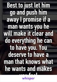 if a man wants you