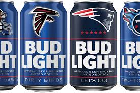 Date On Bottom Of Bud Light Can Bud Lights New 2019 Nfl Cans Are A Thing Of Beauty