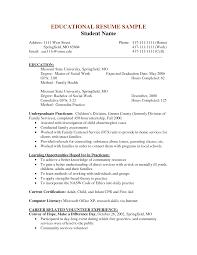 School Social Worker Sample Resume Ideas Of Sample Social Work Resume Resume Templates Wonderful Resume 18