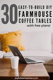 The table is 48 x 28 x 18 (dimensions are approximate within 1/2 or so). 30 Easy Diy Farmhouse Coffee Table Projects With Free Plans Joyful Derivatives