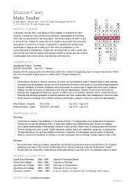 Resume Templates Teachers Extraordinary Art Teacher Resume Cover Letter Examples Template Free Samples