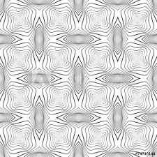 Design Seamless Monochrome Warped Grid Wave Pattern Buy