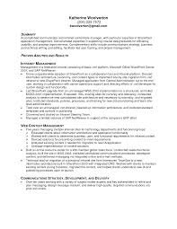 Sales Experience Sample Resume Resume For Correctional Officer Job